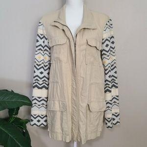 Pixley Sweater Sleeve Malan Cargo Jacket  Pixley M